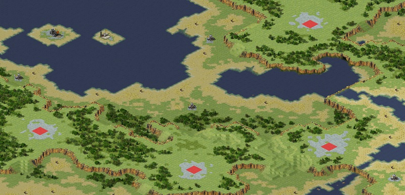 Scortched Earth Map.Scorched Earth Ra2 Map Nature Retreat 2 4 Red Alert 2 Maps Xwis